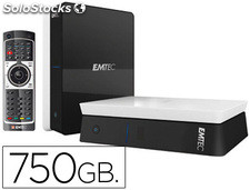 Reproductor multimedia emtec movie cube S120H 750GB full hd-hdmi usb 2.0 lector