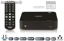 Reproductor multimedia HD con ethernet. FONESTAR MP-300