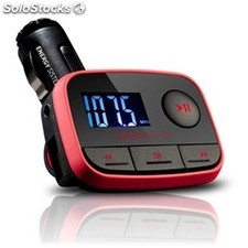 Reproductor portátil MP3 energy sistem Car f2 Racing Red