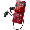 Reproductor portátil MP3 sony nwz-E463R 4GB rojo