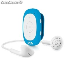 Reproductor portátil MP3 SPC 8584A 4GB + radio clip azul