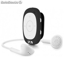 Reproductor portátil MP3 SPC 8584N 4GB + radio alip negro