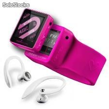 Reproductor portátil MP4 energy sistem 2504 Sport 4gb Fucsia Red