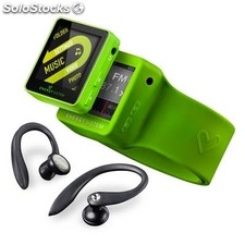Reproductor portátil MP4 energy sistem 2508 Sport 8GB Lime Green