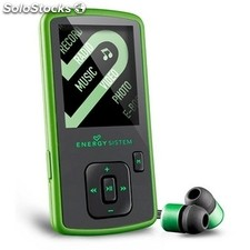 Reproductor portátil MP4 energy sistem 8GB Slim 3 Nature Green