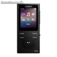 Reproductor sony MP4 4GB negro