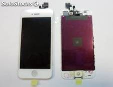 Repuesto pantalla lcd+touch completa para apple iphone 5g blanco
