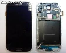 Repuesto pantalla lcd+touch+frame(marco) para smartphone samsung galaxy s4 i9500