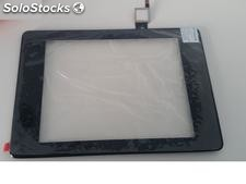 Repuesto Pantalla Tablet Original Alcatel One Touch Evo 8HD con Marco Negra