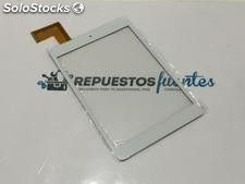 Repuesto Pantalla Tactil para Szenio 7853DC - Tablet PC Blanca