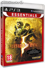 Resident evil 5 gold move essentils/PS3