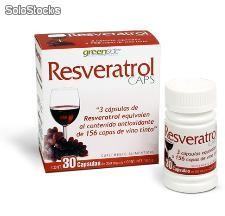 Resveratrol green side 30 capsulas
