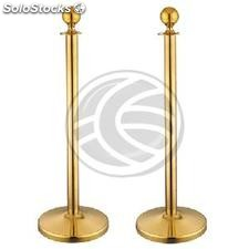 Retractable barrier cord posts for queue management 320x51x1000mm stainless