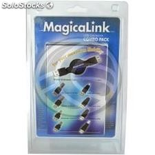 Retractable usb Combo Pack (usb 2.0) (EX02)