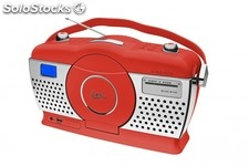 Retro Portable CD / usb Radio