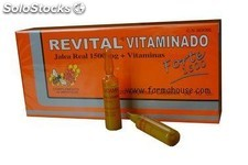 Revital Jalea real vitaminado, 20 amp