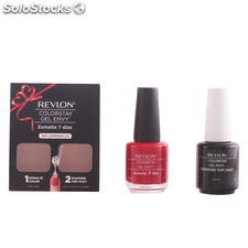 Revlon colorstay gel envy duo fire coffret 2 pz