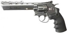 "Revolver CO2 Dan Wesson 6"" Plata Calibre 4.4 mm asg ASG16559"
