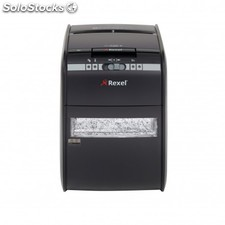 Rexel - Auto+ 90X Cross shredding 60dB Negro triturador de papel