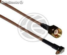Rg-316 Cable 20cm (mc-Card Lucent Male/rsma-Male) (RG93)