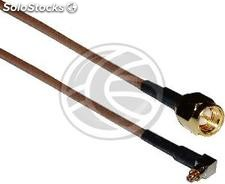 Rg-316 Cable 20cm (mc-Card Lucent Male/sma-Male) (RG91)