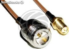 RG316 coaxial cable N-female to RSMA-female 20cm (WG43)