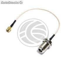 RG316 coaxial cable SMA-male to N-female 20cm (WG44)