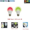 Rgb 6w ac85-265v inteligente bombilla led wifi bombilla led para Apple y Android