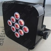 Rgb Tri-color slim led par with battery powered and wireless dmx512