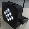 Rgbw Battery led Flat Par with Wireless Dmx512