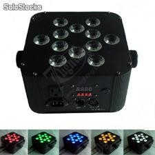 Rgbwa 5 in1 led 12x12W led Flat Par Uplighting,Wedding Lighting packages