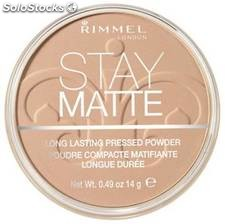 Rimmel london compactos stay mate