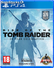 Rise of the romb raider:20 aniv./PS4