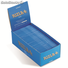 Rizla regular double blue papier a rouler - 25 carnets