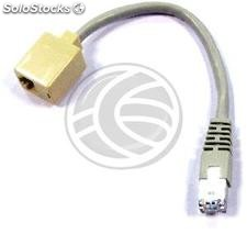 RJ45 Cat.5e ftp Adapter m/h 15cm Cross (RC62)