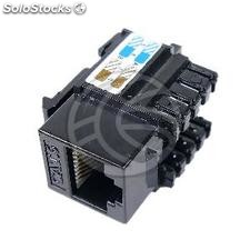 RJ45 Keystone Female to TB110 black utp Cat.6 (RD59)
