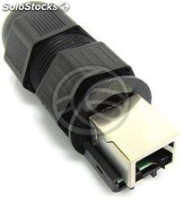 RJ45 Keystone RJ45 female to female Cat6 utp IP68 (RD69)