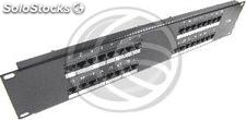 RJ45 Patch Panel Cat.5e utp 2U 32 black (RC46)