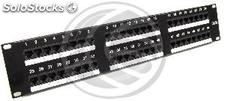 RJ45 Patch Panel Cat.5e utp 2U 48 black (RC42-0002)