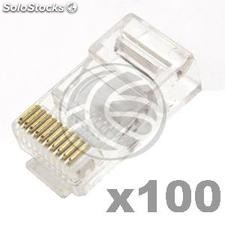 RJ48 connector RJ50 male 10P10C 100 units (RH08)