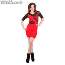 Robe Mily Rouge