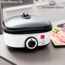 Robot de Cocina Chef Master Kitchen Quick Cooker 5 L 1300W Negro Blanco