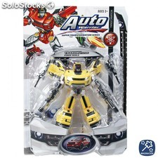 Robot transformable coche 24 cm