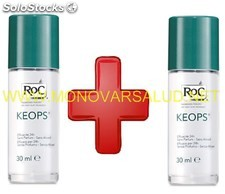 Roc keops desodorante roll-on piel sensible 2 unidades 2 x 30 ml