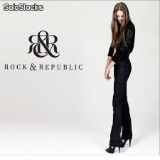 Rock & republic pantalon mujer temporada 2014/2015 pack de 24 pantalones
