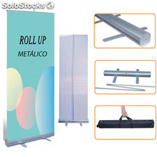 Roll up metálico 100X200