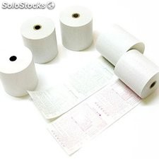 Rollo papel térmico 80x80x12 mm blanco 1 palet