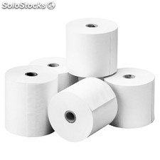 Rollo papel termico 80X80X12 mm pack 5 uds