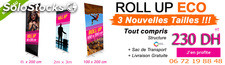 Rollup premium fabrication européenne 2017