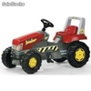 Rolly-toys traktor junior czer